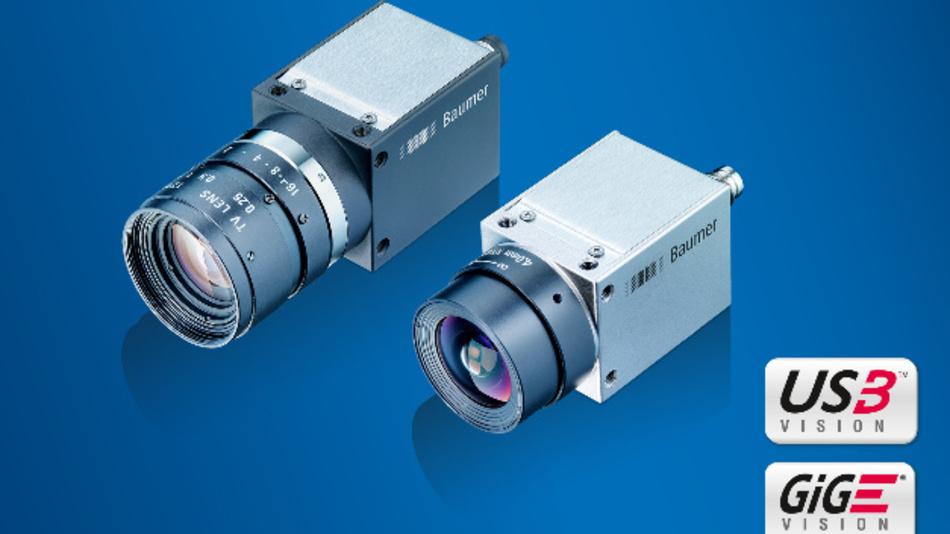 Baumer erweitert mit zehn neuen Versionen die Kameraserien CX und EX auf 20 bzw. 10 MPixel Bildsensor-Auflösung.