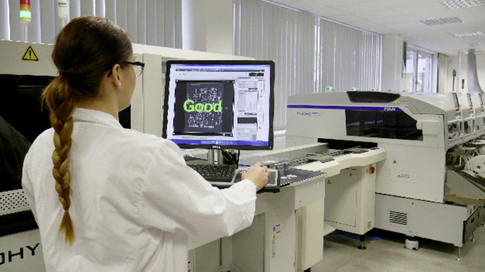 Die Schnittstellen der eMES-Lösung ermöglichen die direkte Nutzung sämtlicher Maschinendaten aus der Fertigung
