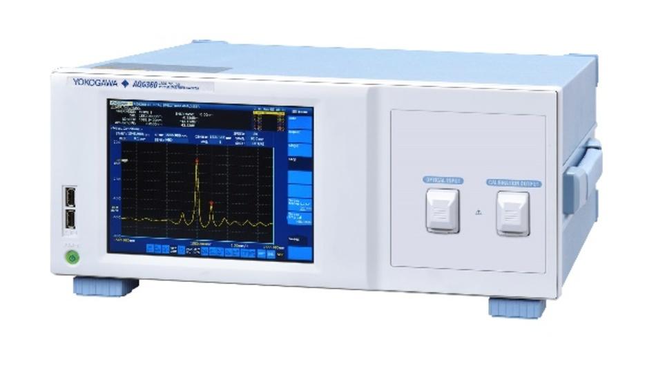 Schneller, kleiner und leichter: Yokogawas optischer Spektrumanalysator AQ6360 für die Fertigungslinie.