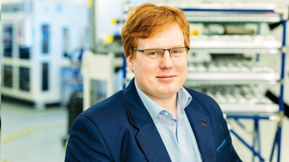 Taavi Madiberk, CEO Skeleton Technologies, hält die Keynote auf dem Anwenderforum Passive Bauelemente 2018