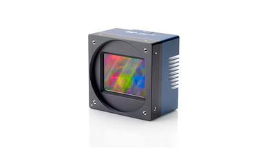 86-Megapixel-Kamera Falcon4 von Teledyne Dalsa ermöglicht eine Bildverarbeitung mit höchster Auflösung.