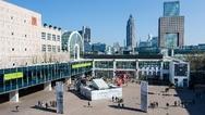Das Gelände der Messe Frankfurt bietet reichlich Platz für die Ausstellung, Foren, Sonderschau und das vielfältige Rahmenprogramm der Weltleitmesse Light+Building