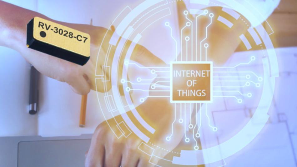 Die neue Echtzeituhr RV-3028-C7 von Micro Crystal