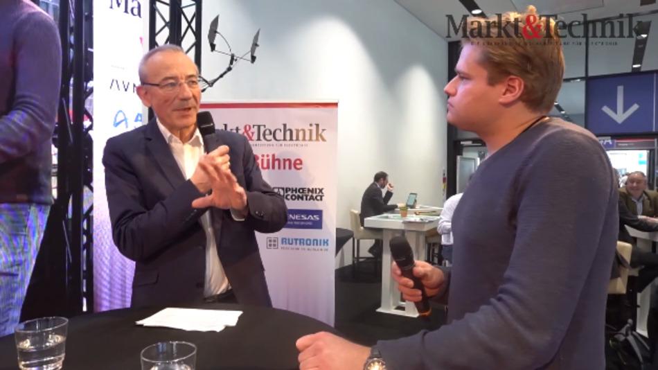 Innovationsberater Christopher Meyer-Mölleringhof (r.) im Gespräch mit Heinz Arnold, Markt&Technik.