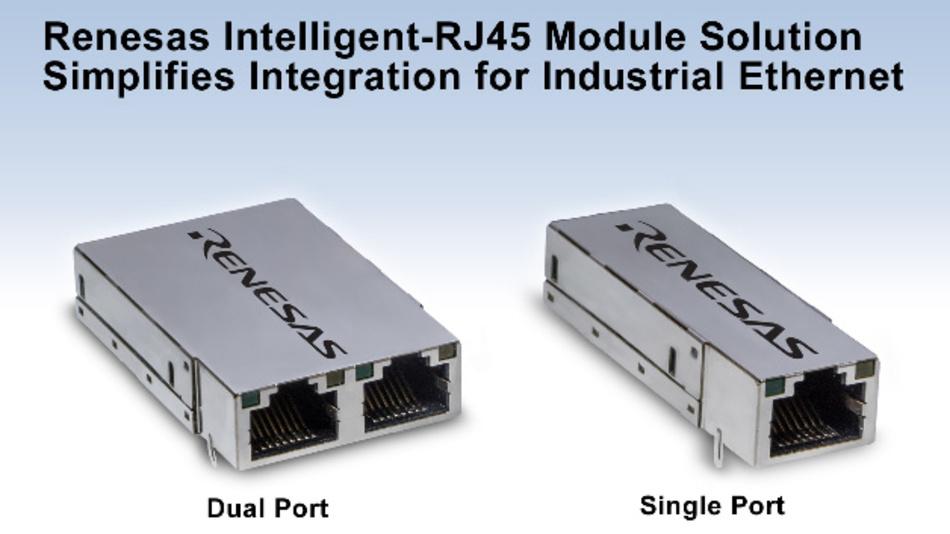 Industrial-Ethernet-Modullösung I-RJ45