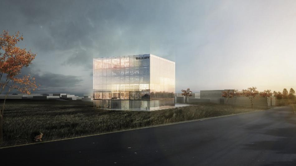 Der geplante Neubau von Balluffs Firmenzentrale in Neuhausen auf den Fildern