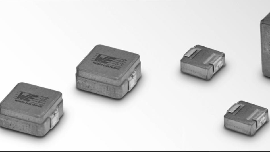 Umpresste SMD-Speicherdrosseln WE-MASH-I sind als neueste Produktserie bei Digi-Key Electronics verfügbar.