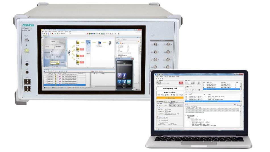 Die Software des eCall-Testers MX703330E kann nun für Typengenehmigungen eingesetzt werden.