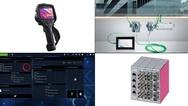 Bildcollage zu Produkten auf der Light  und Building 2018