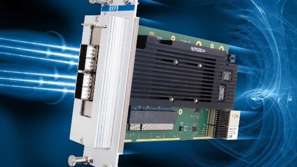 """Auf dem """"SA4-Country""""-Adapter von EKF findet eine Low-Profile-PCI-Express-Karte Platz."""