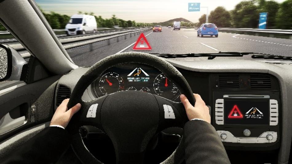 Die cloudbasierte Falschfahrerwarnung von Bosch kann Autofahrer bereits nach wenigen Sekunden warnen.