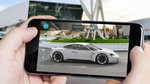 Porsche präsentiert Mission E Augmented Reality App
