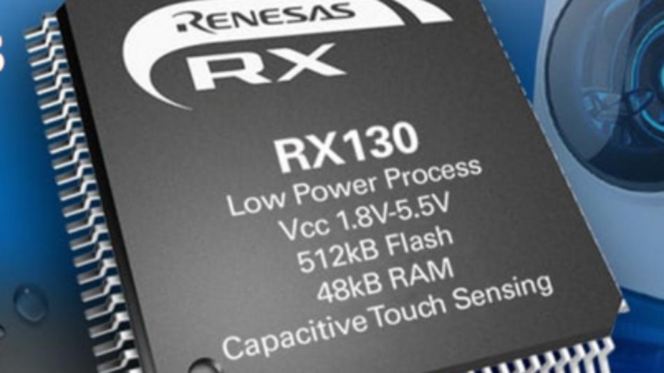 Die neue RX130 Mikrocontroller-Familie