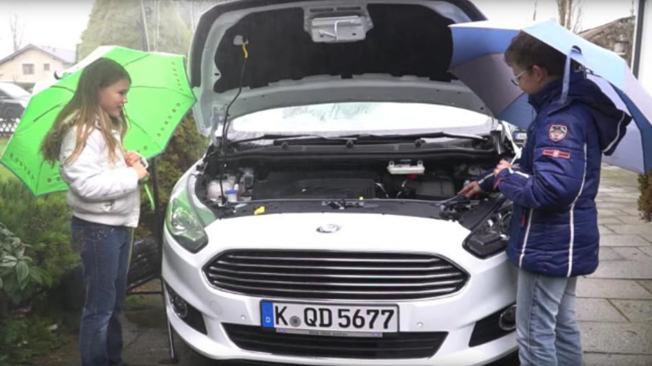 »Schüler Experimentieren« Am FZ Jülich: Regenwasser Für Die  Scheibenreinigung Verwenden | Elektronik Automotive