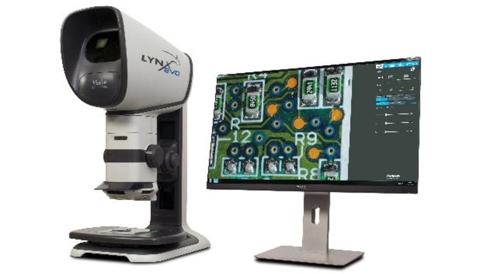 Stereomikroskop Lynx EVO von Vision Engineering