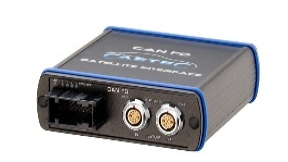 CAN FD Satellite Interface von Ipetronik