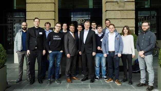 Die Gründungsmitglieder des Bundesverbands Künstliche Intelligenz in München.