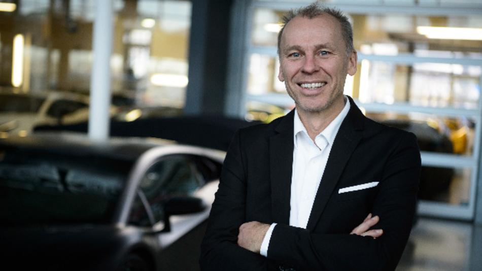 Stefan Bratzel, Direktor des Center of Automotive Management der Fachhochschule Bergisch Gladbach, spricht bei einem Branchentag über den Mobilitätswandel.