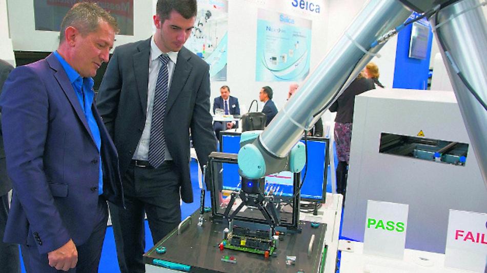 Die Productronica ist alle zwei Jahre eine der wichtigsten Fachmesse in der Elektronikfertigungs-Branche