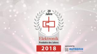Die Gewinner der Leserwahl zu den Produkten des Jahres 2018 stehen fest!Elektromechanik