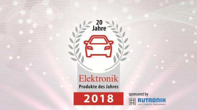 Preisverleihung der Produkte des Jahres 2018 in der Kategorie »Automotive«.