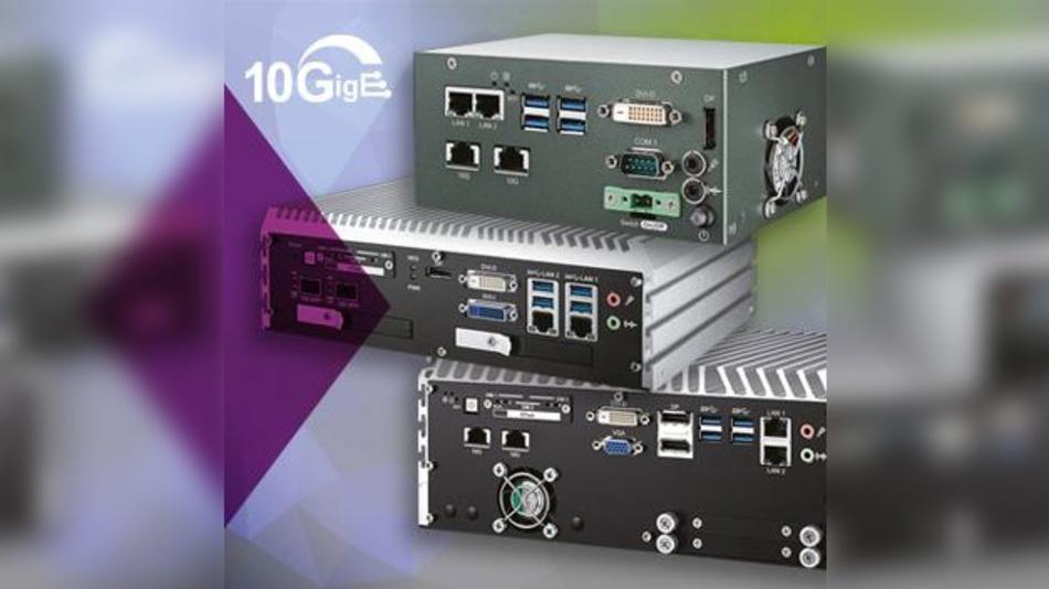Neue PCs von Vecow mit 10-GigE-Schnittstellen.