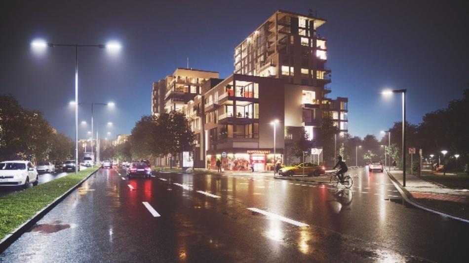 LED-Straßenbeleuchtung - individuell per App abgestimmt
