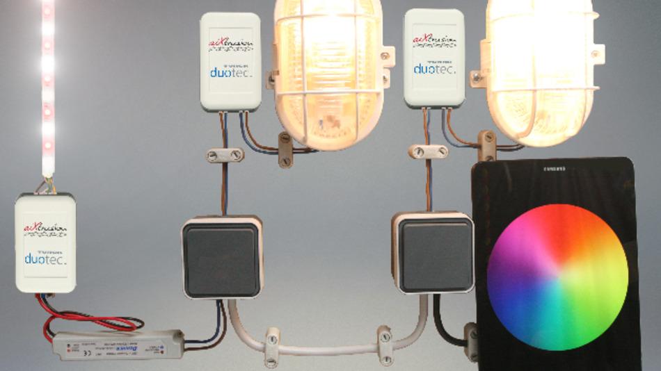 Die Turck-Tochter Duotec setzt für seine Lichtsteuerungen auf Bluetooth-Mesh.