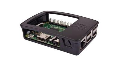 Raspberry Pi 3B+ im offenen Gehäuse