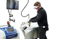Mobiles Laserschweißsystem von Alpha Laser