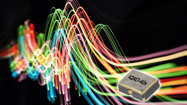 Lasten von bis zu 15 pF steuert IQDs 32-kHz-Oszillator IQXO-40x an.