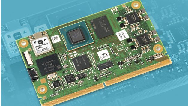 """MSC nutzt für das SMARC-2.0-Modul """"SM2S-IMX8M"""" den i.MX8M-Prozessor von NXP."""