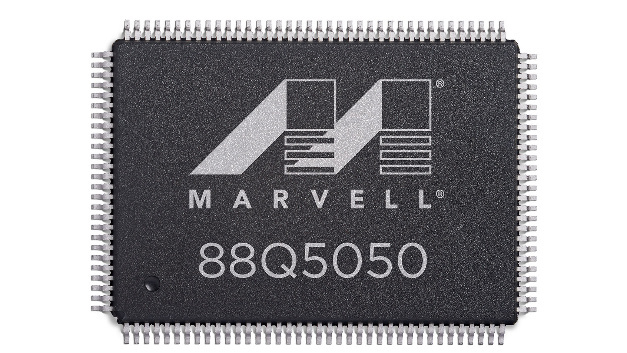 Der Automotive-Ethernet-Switch 88Q5050 von Marvell.
