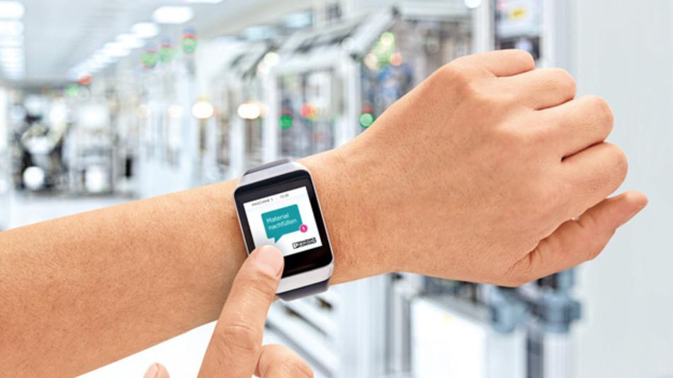 Bild 3: Geräte wie diese Smartwatch dienen immer häufiger als Basis für Dienstleistungen.