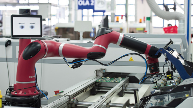 Cobots als smarte Helfer in der Produktion