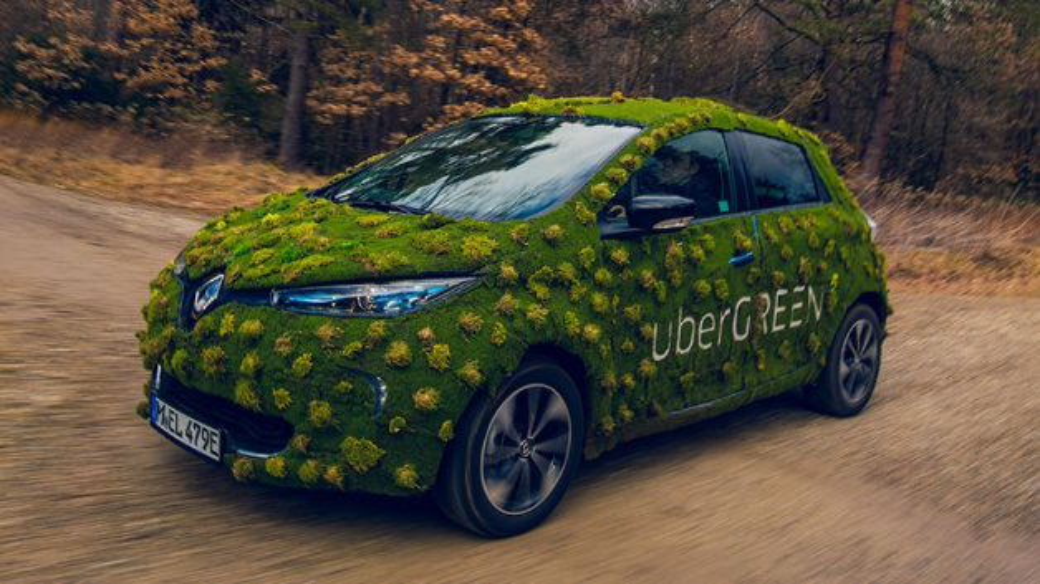 Die Option uberGREEN ist nun durch rund 30 Renault Zoe in München buchbar.