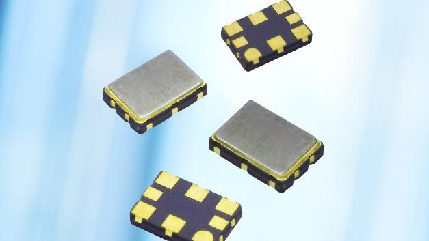 Beide HF-Oszillator-Serien weisen einen typischen Stromverbrauch von 70 bis 100 mA je nach gewählter Ausgangslogik auf.