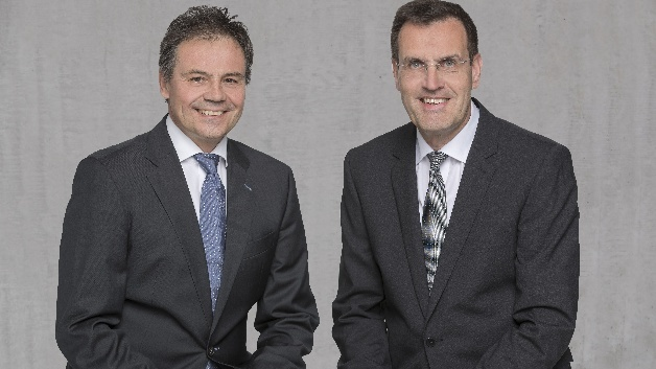 Hans-Joachim Schwabe (l.) und Andreas Wolf (r.)