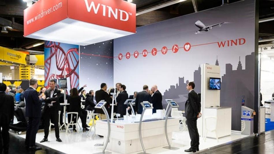 Mit einem neuen Markenauftritt präsentierte sich Wind River auf der embedded world 2015. 2018 war Wind River dort nicht mehr mit eigenem Stand vertreten.
