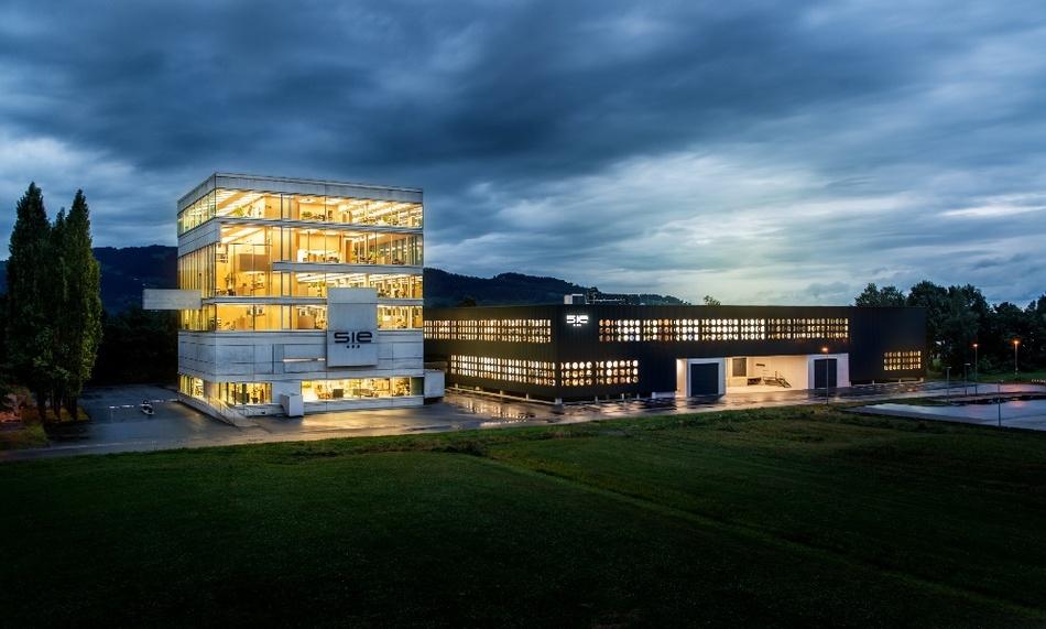 Firmenzentrale der S.I.E in Lustenau