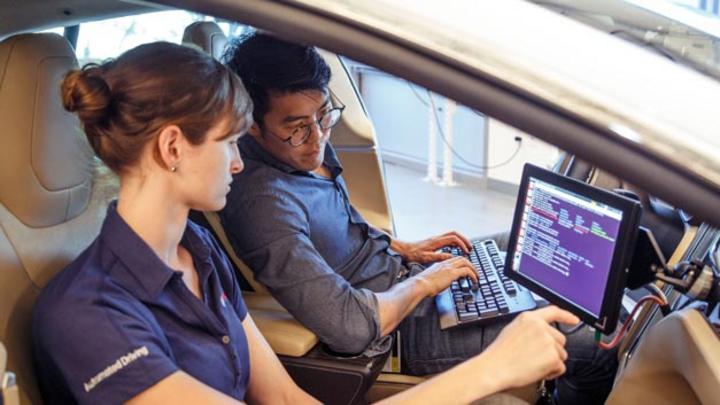 Im neuen Research and Technology Center arbeitet Bosch in der Grundlagenforschung und Vorausentwicklung Prozesse und Lösungen in Bereichen wie Data Mining, Sensorik, künstlicher Intelligenz oder dem automatisierten Fahren.