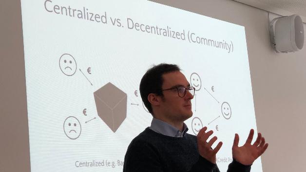 Alexander Kaiser, Blockinfinity: »Solange es mehrere Akteure gibt, sich eine intermediäre Instanz einsparen lässt, du es um Dinge von Wert geht, kann die Blockchain ihre Vorteile ausspielen. Das können im Falle der Energietechnik selbstverständlich Energieeinheiten sein.«