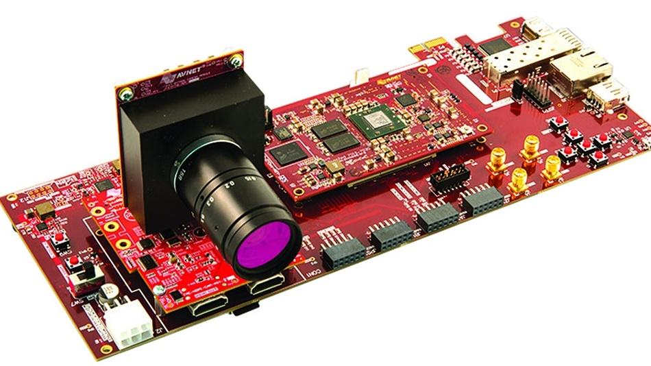 Bild 2: Das PicoZed-Embedded-Vision-Kit auf Basis des programmierbaren System-on-Chip (SoC) Zynq-7000 von Xilinx.