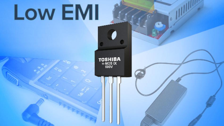 Die elektromagnetisce Abstrahlung ist wesentlich geringer als bei der aktuellen MOSFET-Generation