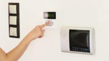 Gebäudetechnik Smartphone-Technik an der Haustür