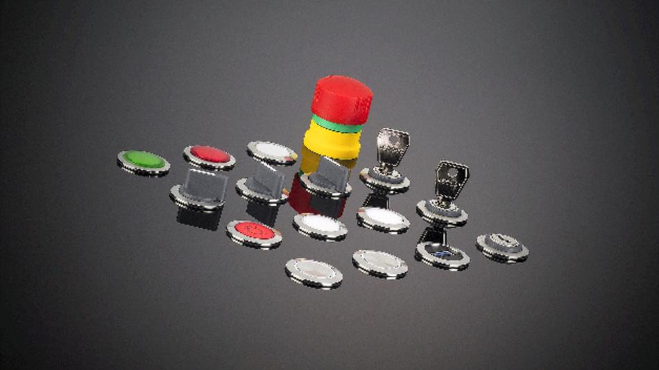 Befehlsgeräte der Baureihe Rondex-Juwel