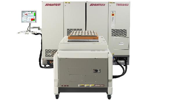 Halbleiter-Testsystem für Speicher der nächsten Generation: Das T5503HS2 prüft DDR5-Speicher in Produktionsvolumen.