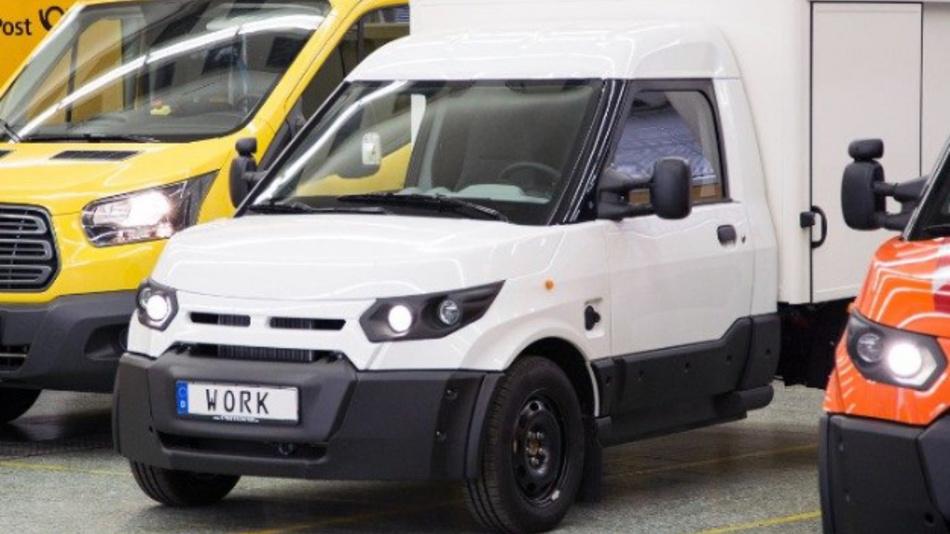 StreetScooter vertreibt die Modelle Work und Work L in Deutschland über teilnehmende Ford Transit Center.