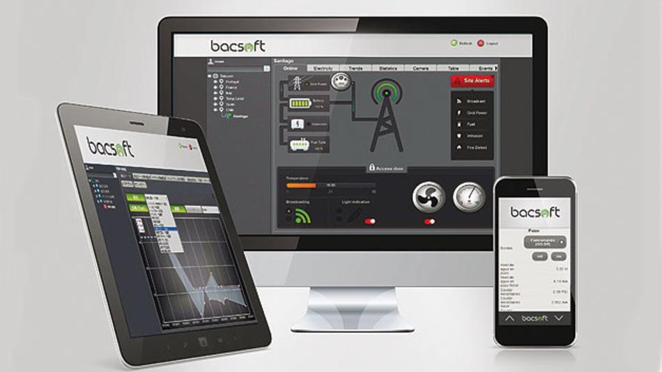 Bild 1. Bacsoft hat für sein Energiemanagement-System eine eigene Software geschrieben.