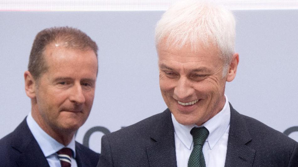 VW-Markenchef Diess soll Konzernchef Müller ablösen.